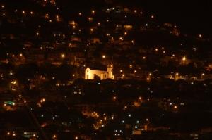 Paisagem Urbana/Igreja iluminada