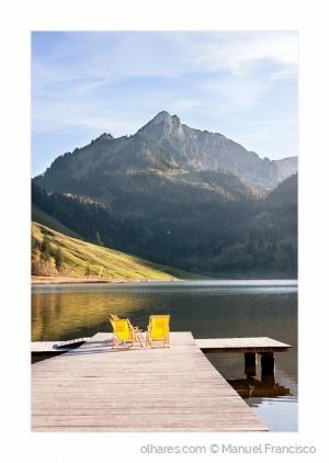 Paisagem Natural/Lago Negro - Suiça