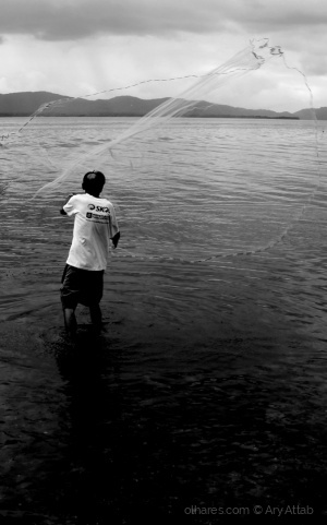 Gentes e Locais/O Pescador e a rede.