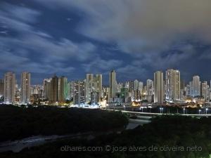 Paisagem Urbana/essa noite..