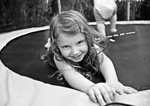 Retratos/Brincadeiras no trampolim