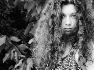 Retratos/She was the wild one....