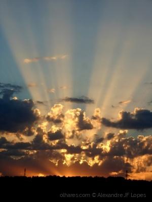 Paisagem Natural/Luzes no Céu