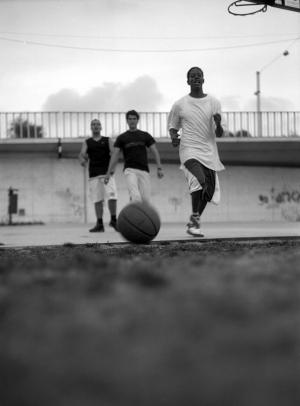 Desporto e Ação/street basket