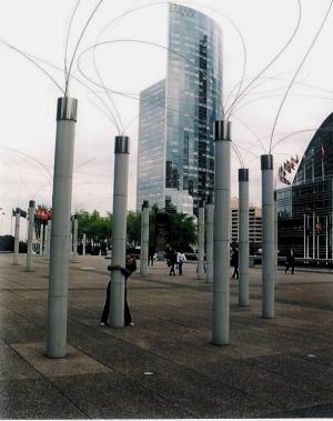 Paisagem Urbana/Fios ao vento