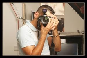 Retratos/Auto-retratoem estudio