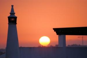 /Por do sol Lagos