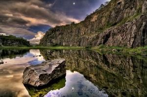 Paisagem Natural/A Pedreira e a Lua