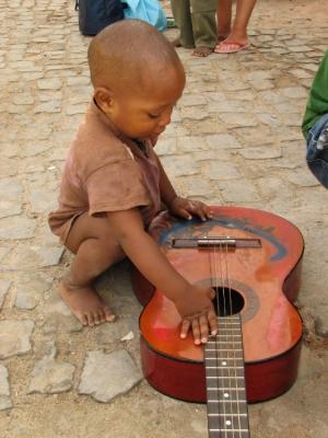 Retratos/Aprendendo a tocar