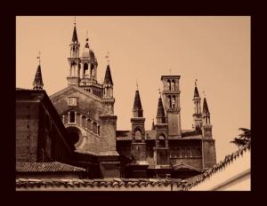 /Os Pináculos de La Cartuja de Pavia