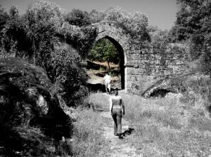 História/em ruinas...