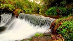 Paisagem Natural/cascata do rio Inha