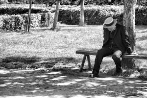 /a solidão e o desalento caminham juntos