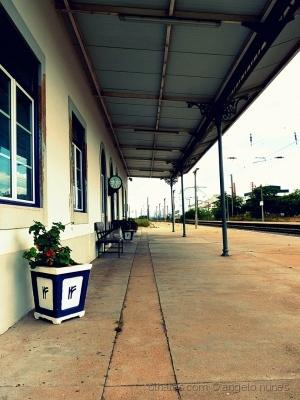 /A estação...
