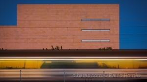 Paisagem Urbana/comboio no teatro