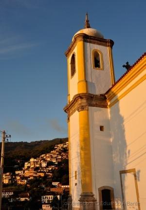 Paisagem Urbana/Igrejas de Ouro Preto - Minas Gerais