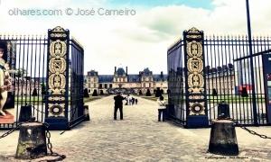 """/""""FONTAINEBLEAU ... palácio real"""" I"""