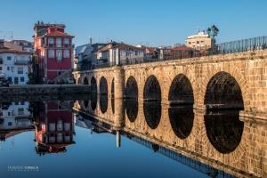 Paisagem Urbana/Ponte de Trajano vezes 2