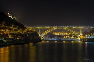 Paisagem Natural/Douro River at night...
