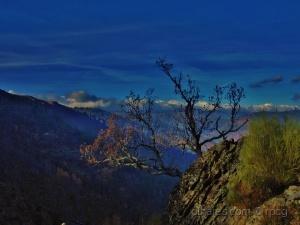 Paisagem Natural/azul