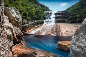 /Cachoeira Águas de Santa Bárbara - MG