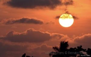 Paisagem Natural/Pôr do Sol em Luanda.