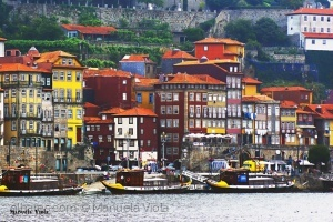 Paisagem Urbana/As cores do Porto