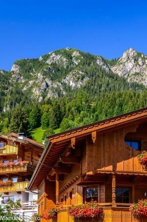 /Casas nos Alpes
