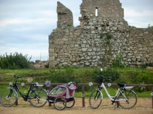 /Fomos visitar as ruínas, já voltamos