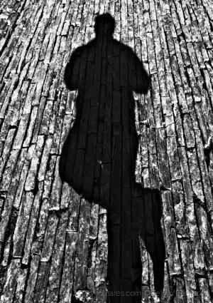Abstrato/A sombra do fotografo