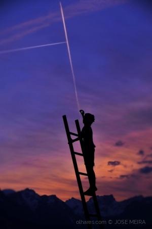 /desenhar no céu