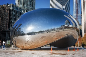 Paisagem Urbana/... The Bean (Freezing Cold), Chicago