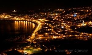 /Ilha do Faial - Cidade da Horta à noite