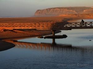 Paisagem Natural/Ponte - Foz do Cizandro