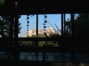 Gentes e Locais/View from a balcony