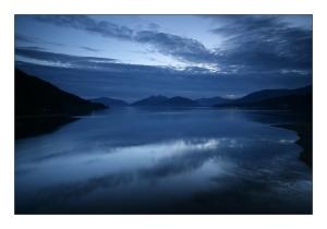 /Vista da Ponte do Loch Leven
