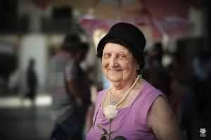 Retratos/Na leve brisa de um sorriso...