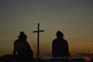 Outros/Por do sol na praça do Cruzeiro - Brasília-Brasil