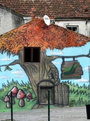 Paisagem Urbana/ Árvore na Casa