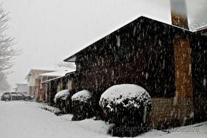 /We still have snow
