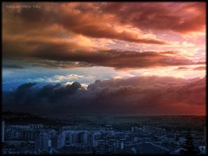 Paisagem Urbana/As cores do caos...