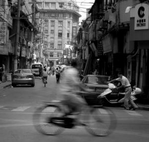 Paisagem Urbana/Ruas de Shanghai...