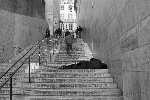 /Chocante - habituação e indiferença! (Lisboa )