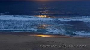 Paisagem Natural/Luz sobre o mar..