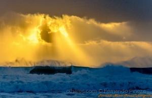 /O céu brindou o mar!(ler)