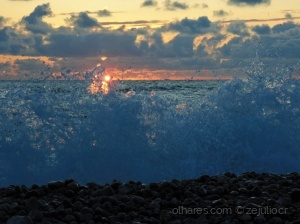 /Sunset splash