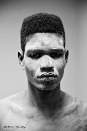 Retratos/Cement man