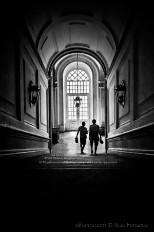 Gentes e Locais/The light of the convent!