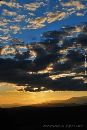 Paisagem Natural/Gold storm clouds