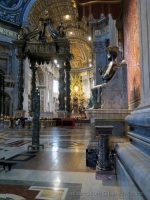 /A Cadeira de Pedro na Basílica de S. Pedro (VAtica